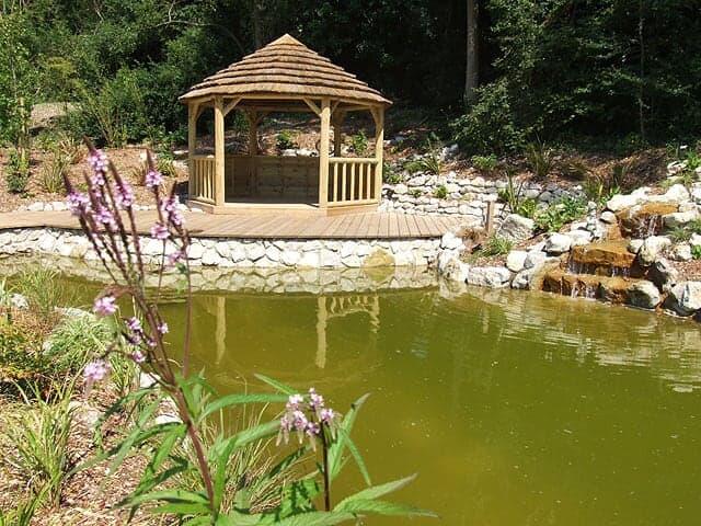 Pond design North Devon